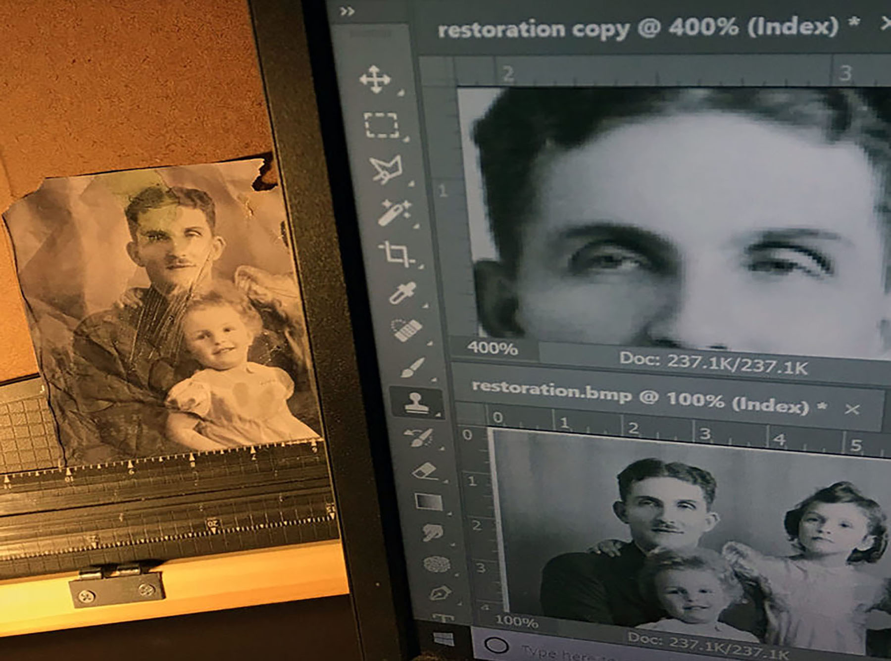Photo Restoration and Enhancements