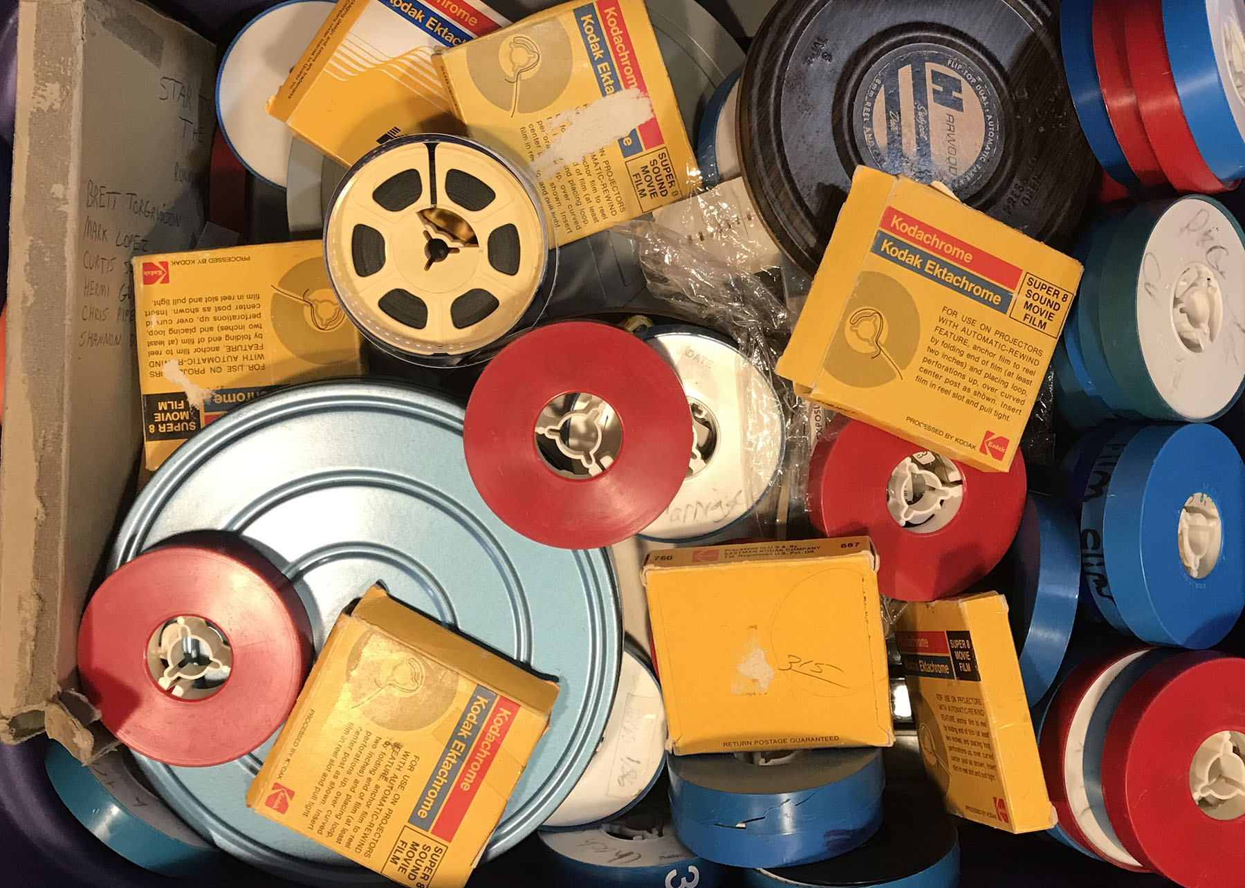 10 TIPS FOR PRESERVING FAMILY MOVIES